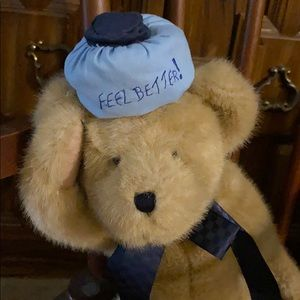 Boyds Bears Plush HOPIN U FEELBETTER Bear Sick